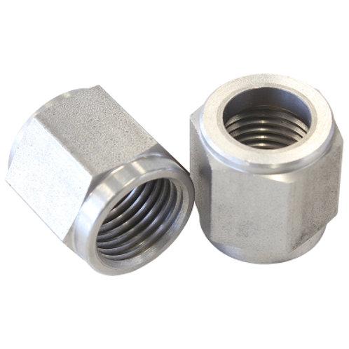 "AEROFLOW -8AN Stainless Steel Tube Nut to 1/2"" Tube"