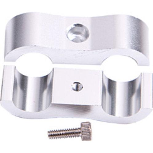 "AEROFLOW Billet Aluminium Dual Hose Separators 5/16"""