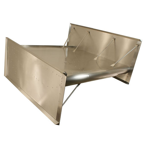 "HRP Sprintcar 2 1/2"" Dished Top Wing"