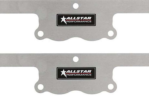 ALLSTAR Exhaust Block Off Plates SBC Spread Port