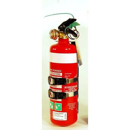 EDGE Safety 1KG Dry Powder Fire Extinguisher