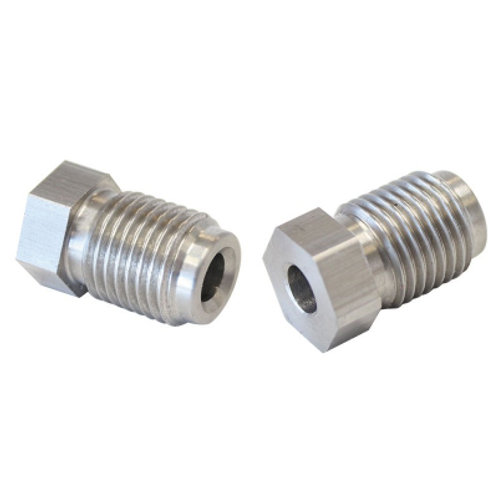 AEROFLOW Stainless Steel Inverted Flare Tube Nuts