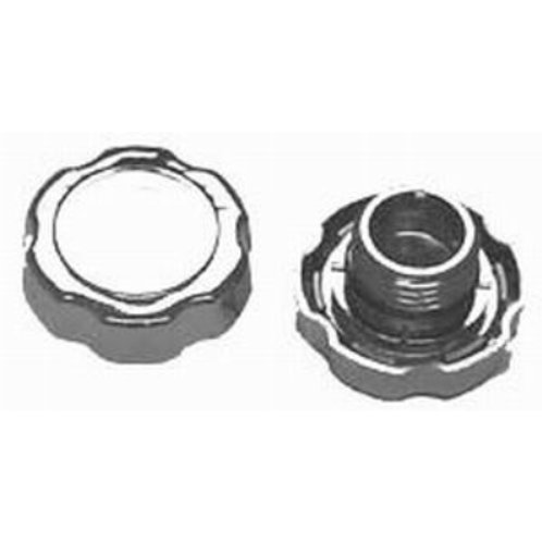 RPC Polished Aluminium Screw-in Oil Cap