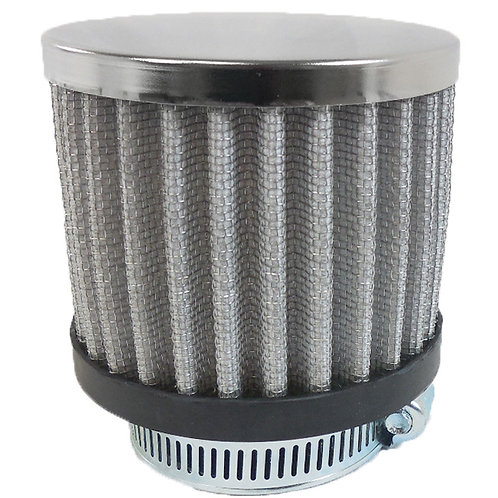 RPC Chrome Clamp-On Filter Breather
