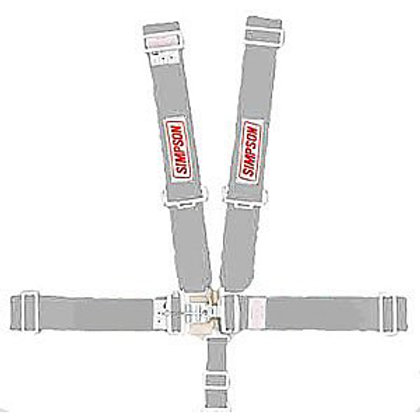SIMPSON Latch and Link 5 Point Harness Platinum