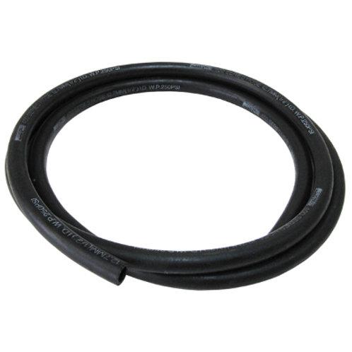 AEROFLOW 400 Series Push Lock Hose -8AN (Black)