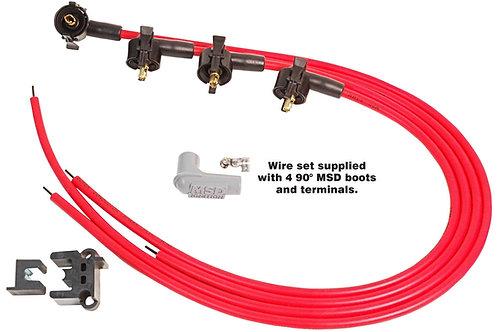MSD Super Conductor Spark Plug Wire Set Midget