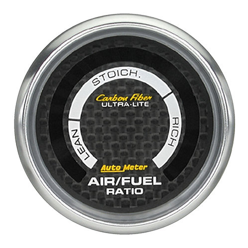 AUTOMETER Carbon Fibre Series Air / Fuel Ratio Gauge