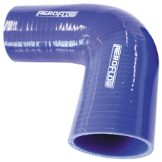 "AEROFLOW 90 Deg Silicone Hose Reducer 3-1/2"" - 3"""