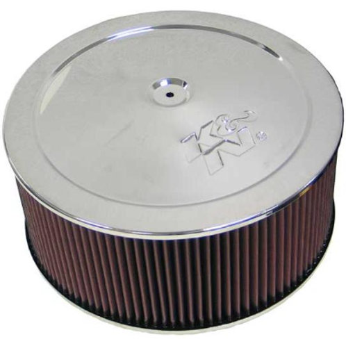 "K&N Air Cleaner Assembly 14"" x 5"""