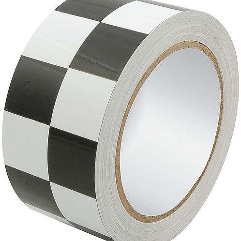 """ALLSTAR Racers Tape 2"""" x 45ft Checkered Black/White"""