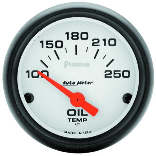 AUTOMETER Phantom Series Oil Temperature Gauge
