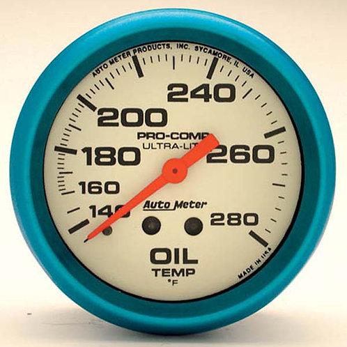 AUTOMETER Ultra-Nite Series Oil Temperature Gauge