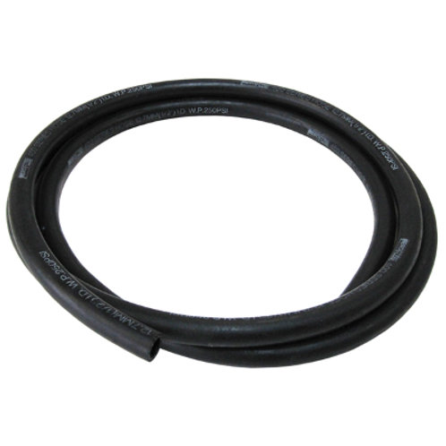 AEROFLOW 400 Series Push Lock Hose -6AN (Black)