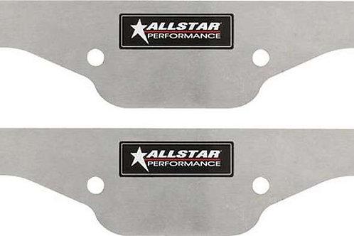 ALLSTAR Exhaust Block Off Plates SBC Aluminium