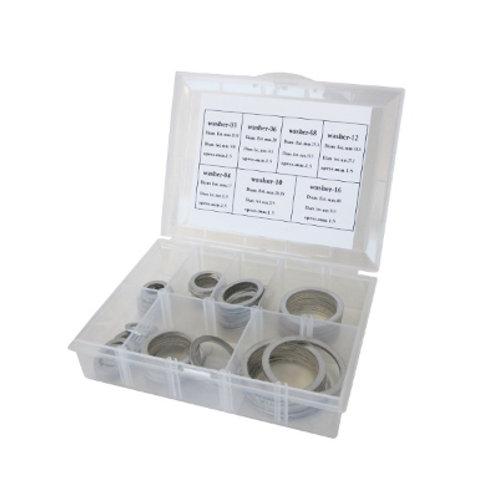 AEROFLOW Aluminium Crush Washers Kit