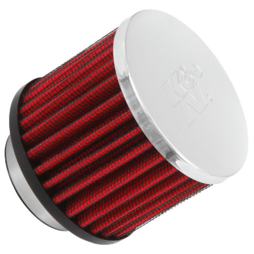 K&N Clamp-On Vent Filter 1-1/2""