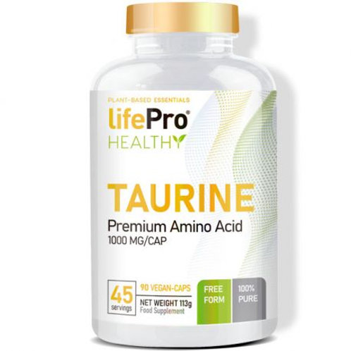 LIFE PRO TAURINE 1000MG 90VCAPS