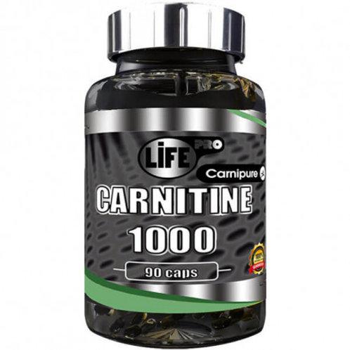 LIFE PRO CARNITINE 1000 CARNIPURE 90 CAPS
