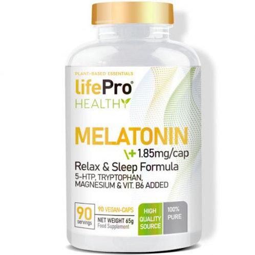 LIFE PRO MELATONIN+5HTP+TRYPTOPHAN+MAGNESIUM+B6 90 VCAPS