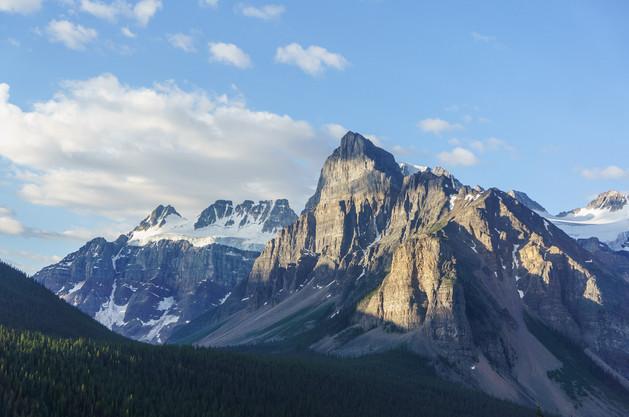 Mount Babel east face