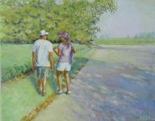 Alison Lyne - Morning Walk