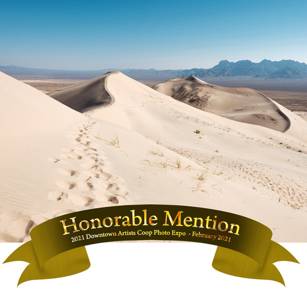 Hiking Kelso Sand Dunes