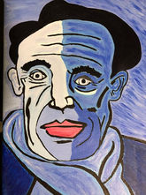 Roxanna Lawdonski - Blue Picasso