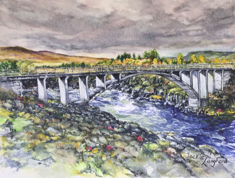 Jackie Langford - Borgarbyggo Bridge