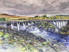 Jackie Langford - Borgarbyggo Bridge