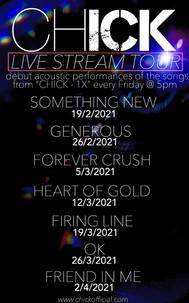 LIVE STREAM TOUR - 2021