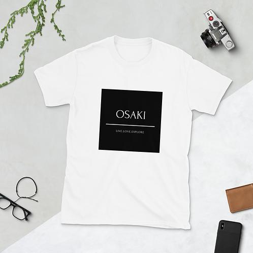 Short-Sleeve Unisex T-Shirt LIVE.LOVE.EXPLORE