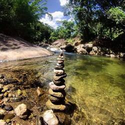 Rio Aldeia Velha poço