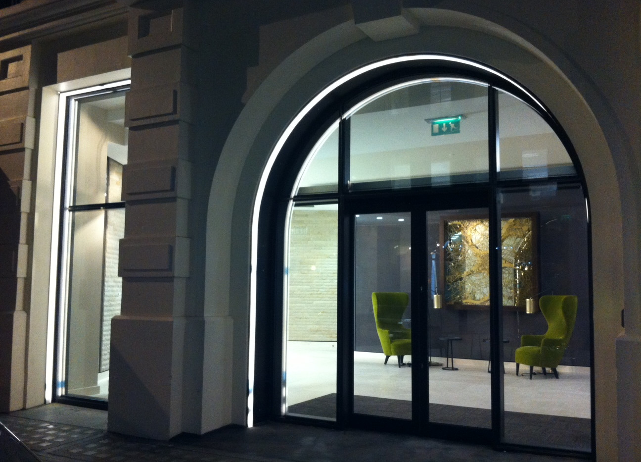 Entrance Night View