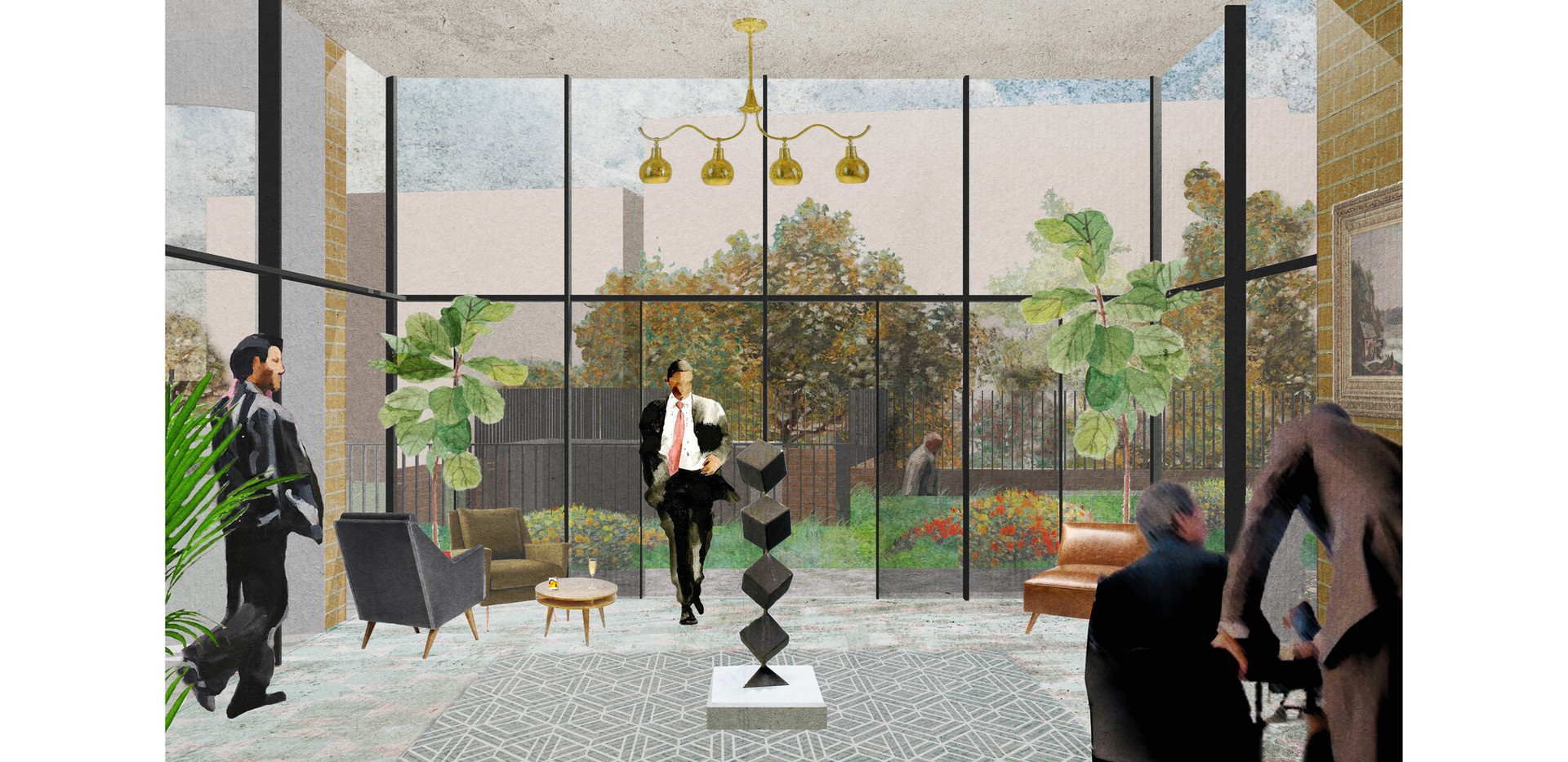 Proposed View New Conservatory