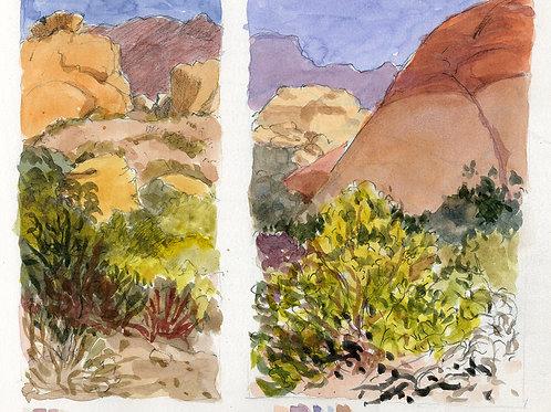 SERIES: High Sierra; Desert Landscape; Pacific Coast