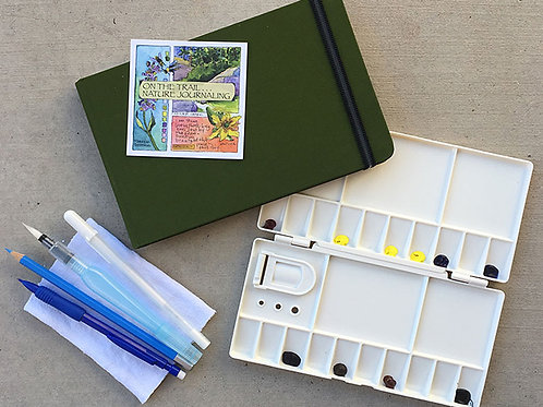 Watercolor Nature Journal Kit (Regretfully, only available to U.S. residents)