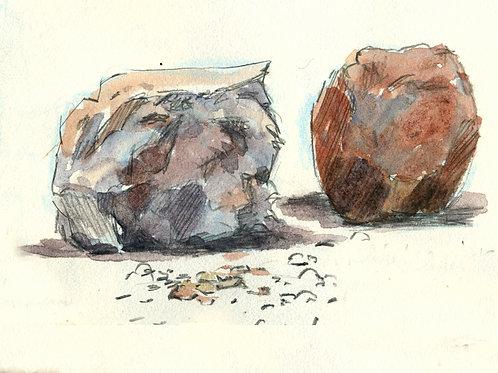 SERIES: Rocks & Boulders; Waterfalls