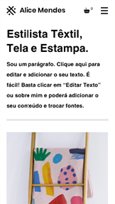 Loja Virtual website templates – Designers Têxteis