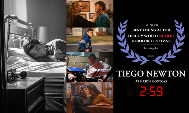 Tiego Newton BEST YOUNG ACTOR Hollywood