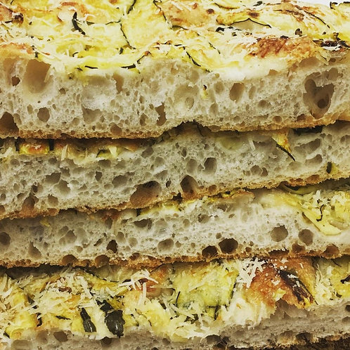 Sea Salt & Rosemary Foccacia