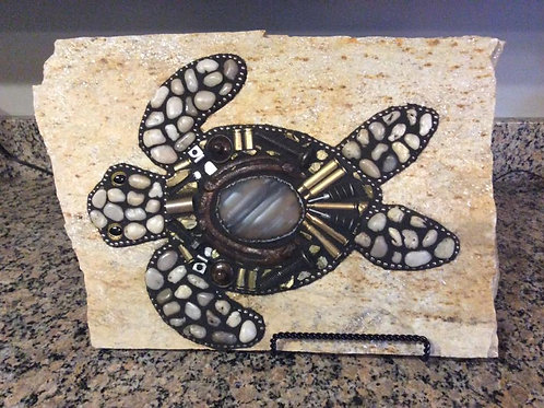 Rock Turtle with Bullets