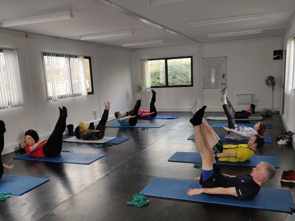 Pilates Class Olive Keys Athlone