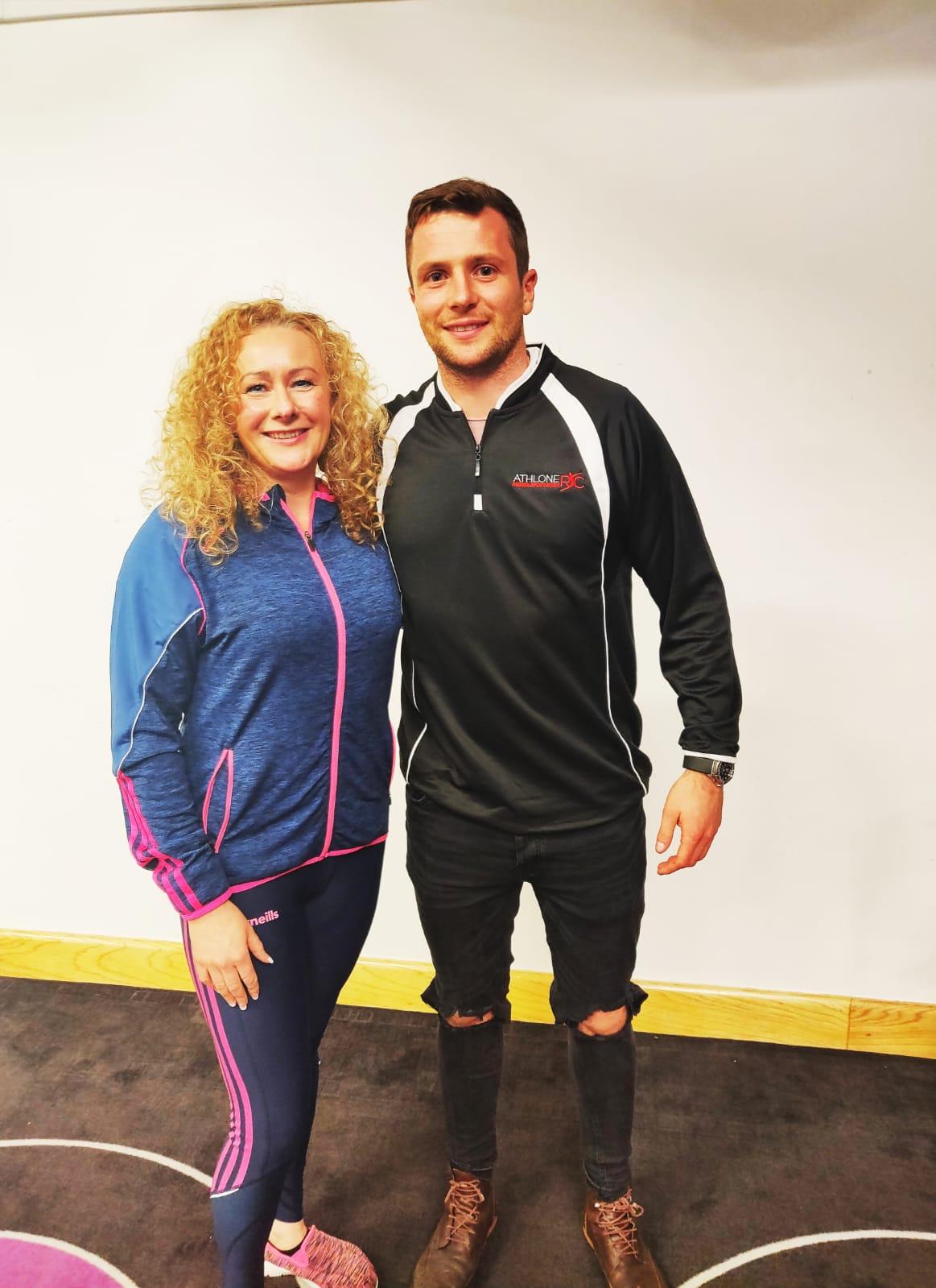 Olive Keyes & Jack Carty Pro Rugby