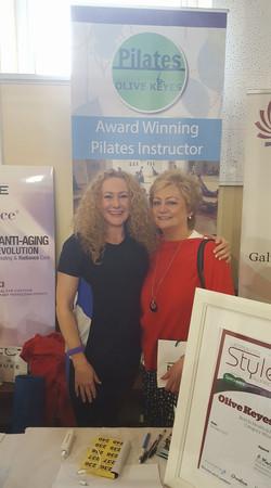 Pilates Olive Keyes & Marina Downey
