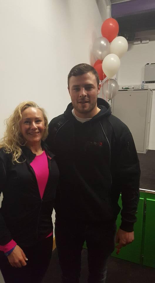 Pilates Olive Keyes & Robbie Henshaw