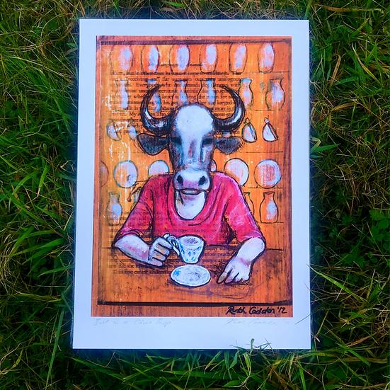 Bull in a China Shop | Fine Art Print