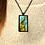 Thumbnail: Smoking Giraffe | Fine Art Glass Pendant Necklace