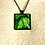 Thumbnail: Green Cabbage | Fine Art Glass Pendant Necklace