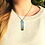 Thumbnail: Sunset on Spiddal Prom | Fine Art Glass Pendant Necklace I Slimline